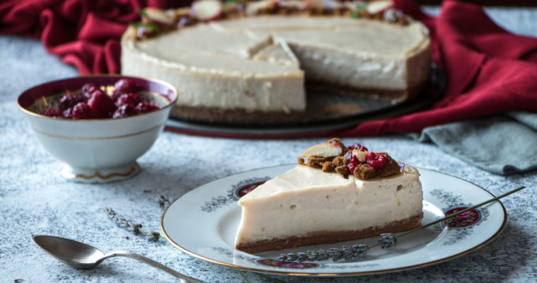 Cheesecake (sans cajou, vegan)