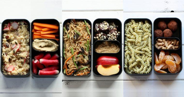 3 idées de lunch box à emporter
