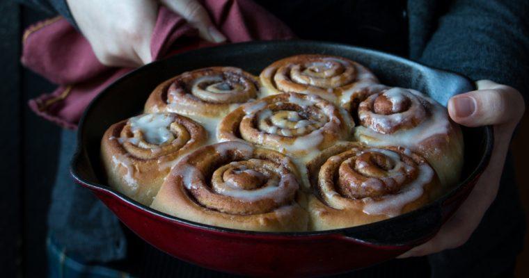 Cinnamon rolls (vegan)
