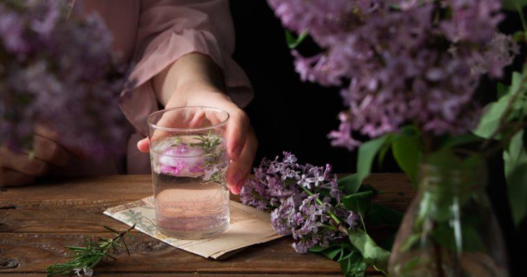 Sirop de lilas maison