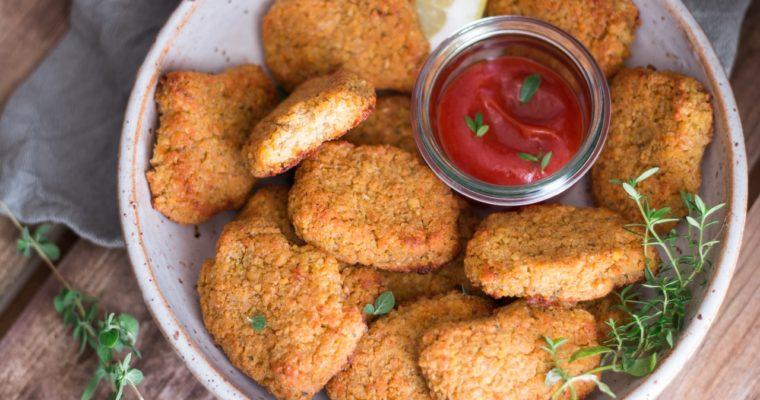 Nuggets de pois chiches croustillants