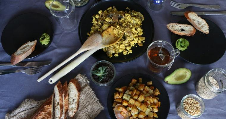 Idées de brunch salé (vegan, sans gluten)