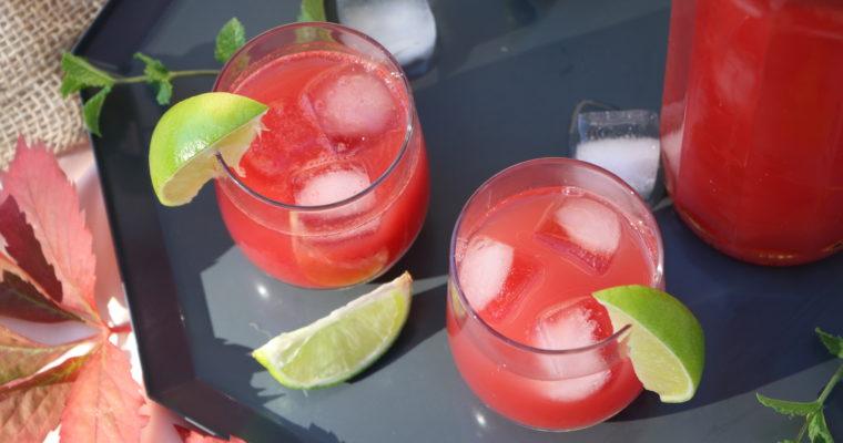 #Recette express : Cocktail à la pastèque