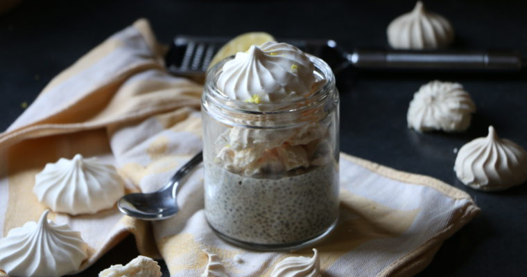#Recette express : Chia pudding façon tarte au citron