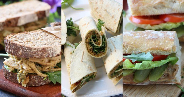 3 sandwichs pour la rentrée (vegan)