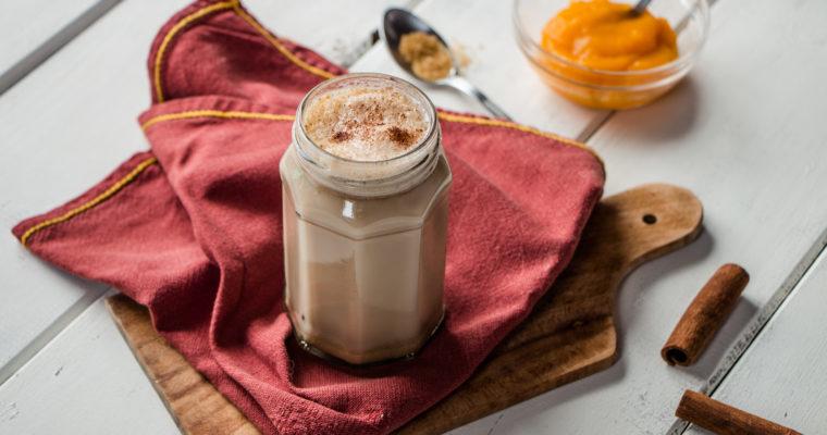 Pumpkin Spice Latte (au thé noir)