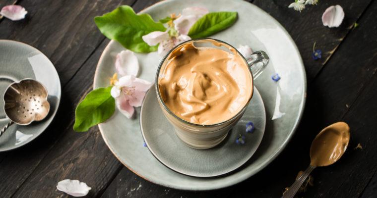 Café dalgona + recette de mon latte à l'érable