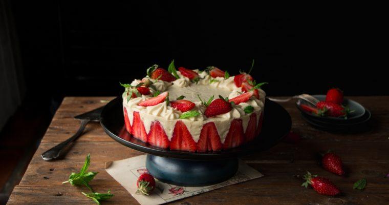 L'incroyable fraisier (vegan)