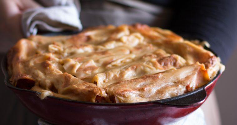 Cannelloni à la bolognaise (vegan)