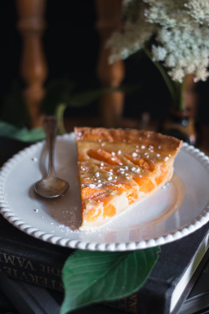 tarte clafoutis abricots