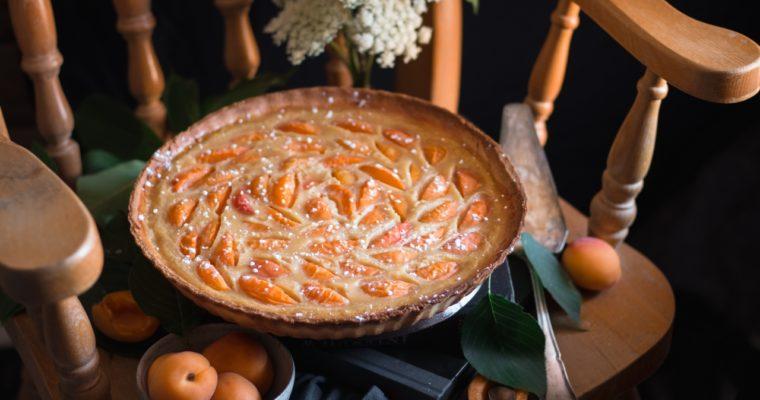 Tarte clafoutis aux abricots